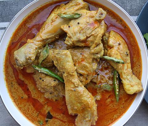 Chicken Hyderabadi
