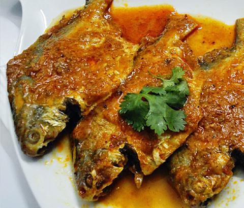 Pomfert Curry/Masala
