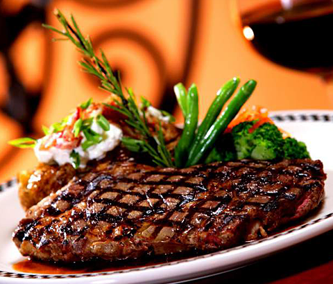 Pork steak sizzler