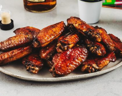 Bourbon Honey Char Siu Wings Recipe