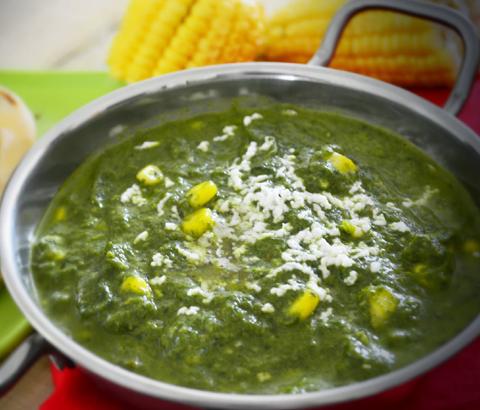 Corn Palak