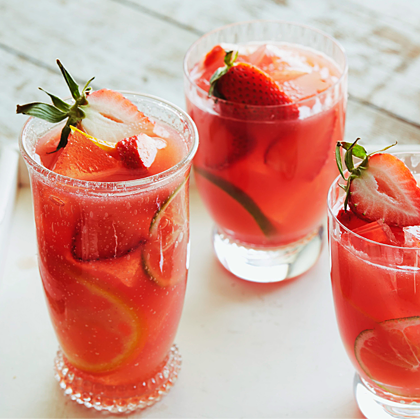 WATER MELON STRAWBERRY COOLER