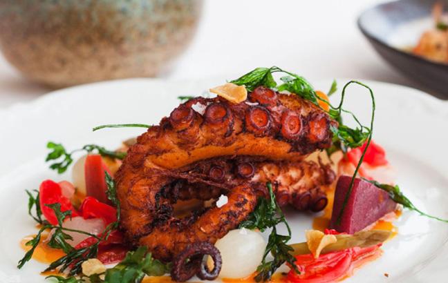 Tandoori Octopus